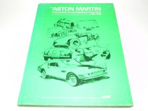 The Aston Martin  A Collection of Contemporary Road Tests 1921-1942 (Feather 1974) Hardback Ltd ed.